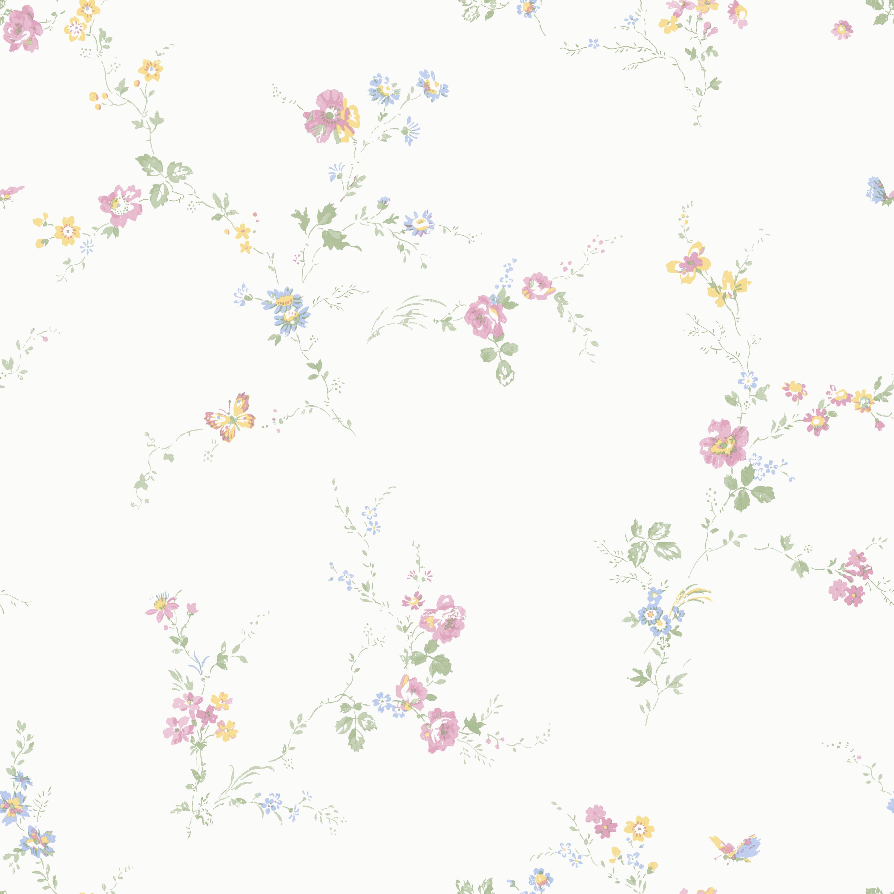 Från populära Boråstapeter kommer dessa vackra och trivsamma tapeter med  ett glest blommönster. Använd dem för att skapa ett både lantligt och  romantiskt ... ae68d657fadde